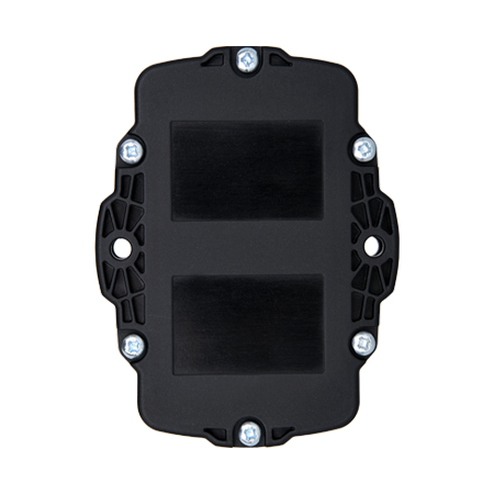 Bottom of Oyster2 device with black housing