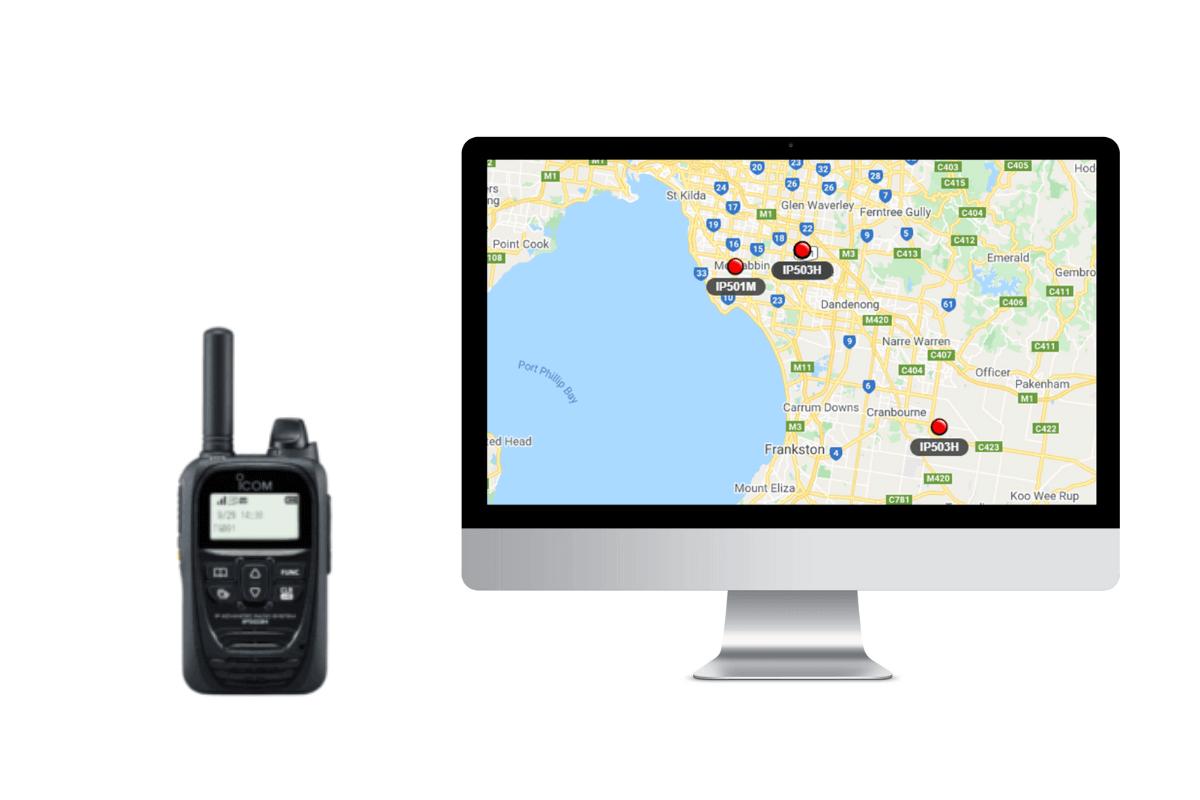 Two-way radio integrated to the Telematics Guru Platform
